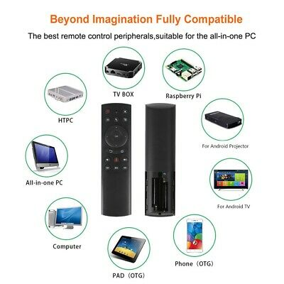 AU16.90 • Buy G20S 2.4G Portable Wireless Voice Remote Control Controller For PC Set-top Box