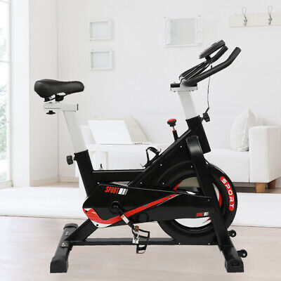 £139.99 • Buy New Cardio Exercise Bike Spin Bicycle Home Fitness With 6kg Flywheel Cycling