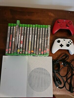AU400 • Buy Xbox One Console 500G 16 Game's And Two Controllers