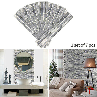 7PCS Stair Riser Staircase Stickers Mural Vinyl Wall Tiles Decals Self Adhesive • 23.06£