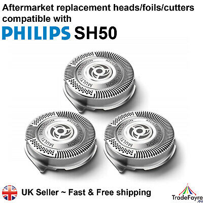 AU21.65 • Buy Aftermarket Philips Series Sh50 Replacement Shaver Heads/foils/cutters