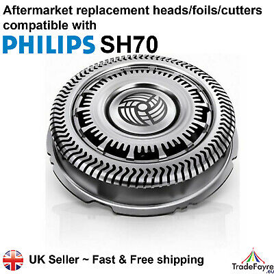 AU21.65 • Buy Aftermarket Philips Series Sh70 Replacement Shaver Heads/foils/cutters