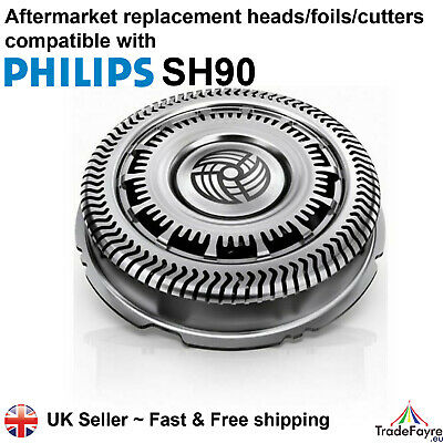 AU21.65 • Buy Aftermarket Philips Series Sh90 Replacement Shaver Heads/foils/cutters