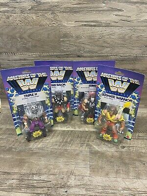 $199.99 • Buy New Masters Of The Wwe Universe Wave 1 Lot HHH Ultimate Warrior Finn Balor Sting