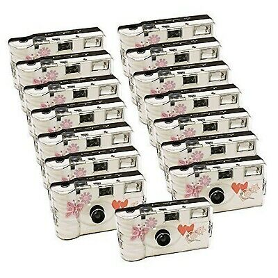 15 X PHOTO PORST With Butterfly / Wedding Camera Disposable (Disposable Camer... • 175.80£