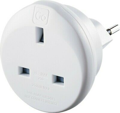 £20.92 • Buy Go Travel UK To Swiss Earthed Compact Travel Adaptor (Adapter Ref 534)