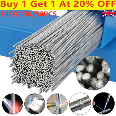 10-50PCS Solution Welding Flux-Cored Rods Free Shipping 2/1.6mm Wire  Brazing UK • 4.45£