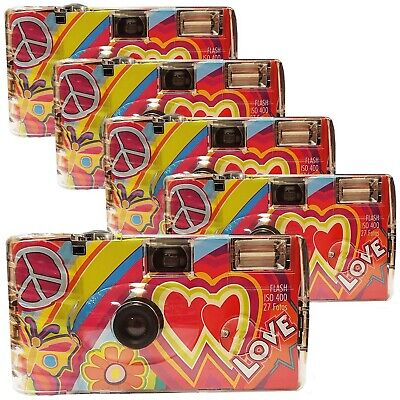Photo Porst Wedding Camera Rainbow Cult - Love Red Disposable Camera / Party ... • 74.45£