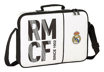 £33.03 • Buy Real Madrid 2018 Briefcase, 38 Cm, White (Blanco)
