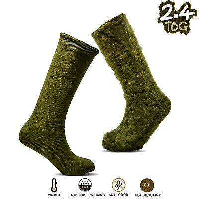 Xelay® Mens Military Actions 2.4Tog Extra Warm Outdoor Thermal Boot Socks UK6-11 • 13.90£