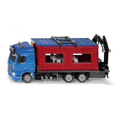 Mercedes-Benz Arocs Truck With Construction Container - 1:50 By Siku - 3556 • 33.99£