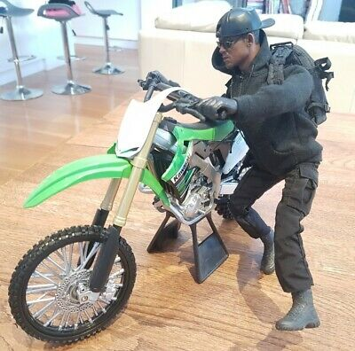 1/6 Scale Gemini Man Will Smith As  Henry 12  Custom Figure With Motorcycle • 155£