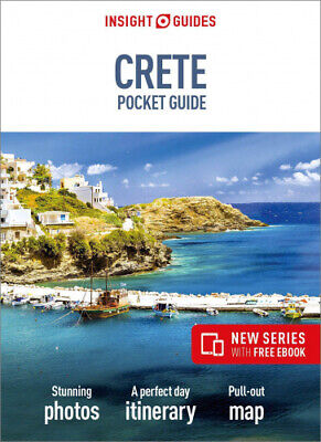 Insight Guides Pocket Crete (Travel Guide With Free EBook) (Insight Pocket • 6.03£