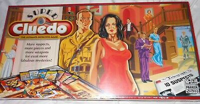 NEW, Still Sealed Super Cluedo Game • 5£