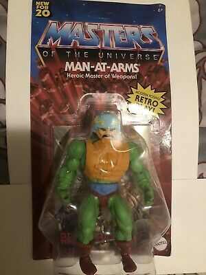 $24.99 • Buy Masters Of The Universe Origins Man-At-Arms Walmart Exclusive 2020 NEW