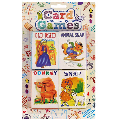 Tallon Games Children's Playing Cards - Pack Of 4 • 3£