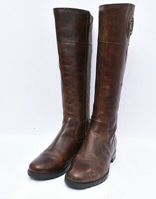 £49.68 • Buy Rockport M77796 Women's Tristina Rosette Tall Wide Calf Leather Boots Sz 7.5