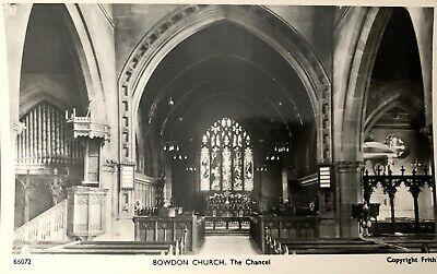 RP Frith's Postcard Bowdon Church, Hale, Manchester, Cheshire. • 1£
