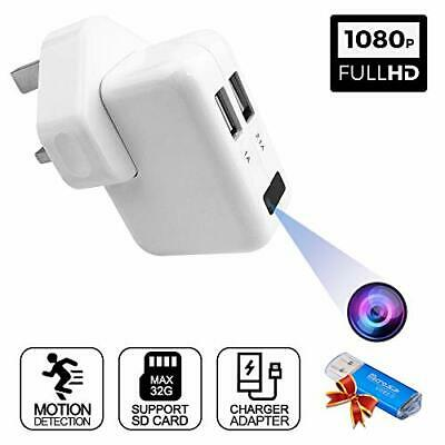 View Details Spy Cameras 1080P HD Mini Camera Covert Hidden Security Surveillance Camera • 41.99£