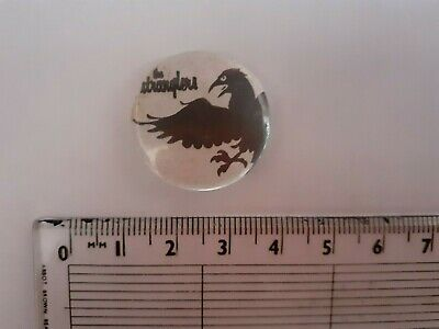 Vintage The Stranglers   Metal Pin Badge - Slightly Foxed 25mm • 4.99£