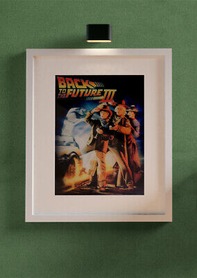 AU23.60 • Buy Lenticular 3D POSTER BACK TO THE FUTURE PART 3 WITHOUT FRAME