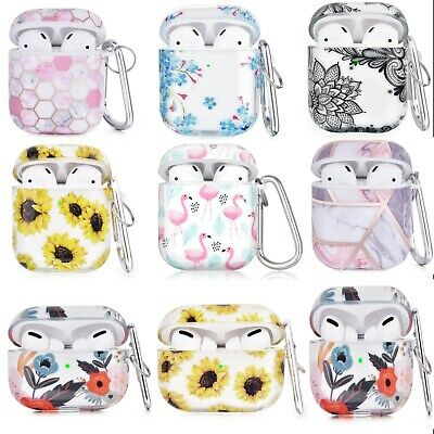 AU16.99 • Buy For Apple AirPods 1/2 Case TPU Cover Shockproof Casing Floral Airpod Gen 1|2 Pro
