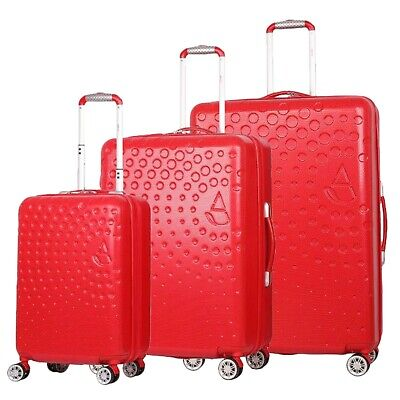 Aerolite ABS Hard Shell 4 Wheel Luggage Suitcase Cabin Hold Small Medium Large • 26.99£