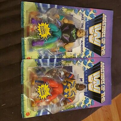 $50 • Buy Masters Of The Wwe Universe Mr T And Jake The Snake Roberts