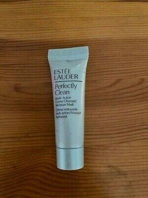 Estee Lauder Perfectly Clean Cream Cleanser Moisture Mask 7ml New • 3£