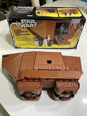 $ CDN1075.67 • Buy ^vintage 70's Kenner Star Wars Radio Controlled Sandcrawler W/ Box. No Remote