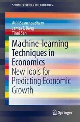 Machine-learning Techniques In Economics: New Tools For Predicting Economic • 45.26£