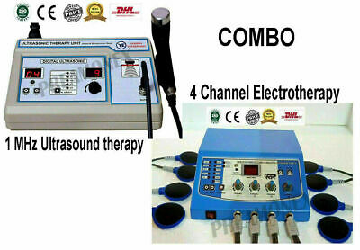 £184 • Buy Combo Offer Machine Physiotherapy Devices 1mhz Ultrasound Therapy Electrotherapy