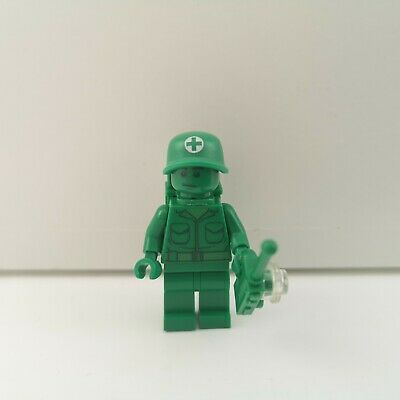 Lego - Toy Story - Green Army Man Medic With Backpack - Genuine Minifigure • 5.99£