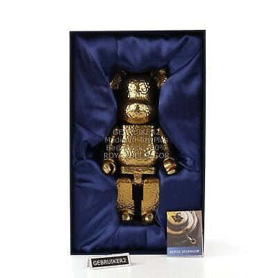 $2250 • Buy Medicom Toy Bearbrick 400% ROYAL SELANGOR Gold Color Version Be@rbrick NIB