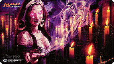 MTG Play Mat Snuff Out Signed By Steve Argyle Magic Gathering Playmat • 36.11£