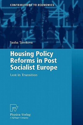 Housing Policy Reforms In Post-Socialist Europe: Lost In Transition • 120£