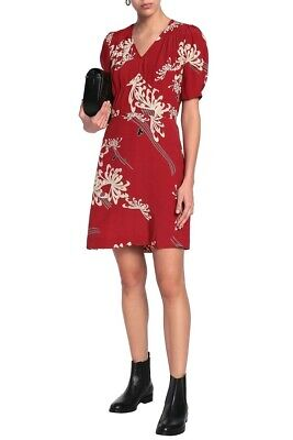 AU90 • Buy MCQ ALEXANDER MCQUEEN Woven Mini Dress - Red -IT Size 40-Pre Owned-Free Postage