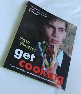 £3.45 • Buy Sam Stern's 'Get Cooking' Book Kitchen Baking Cookery Book Teenager Gift VGC
