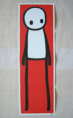 STIK Rare Signed & Doodled 1st Edition Book  2015 + Signed Red Poster • 995£