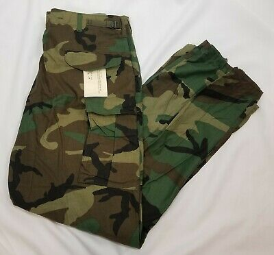 $62.99 • Buy US GI M65 Field Pants Trousers Woodland Camo Cold Weather XL Long NOS