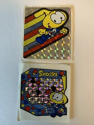 AU12.39 • Buy Vintage 80s Sticker Snorks