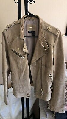 AU50 • Buy Mango Leather Jacket Size S