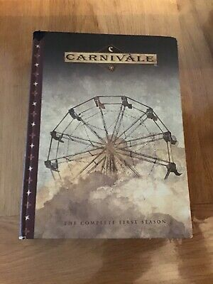 CARNIVALE THE COMPLETE FIRST SEASON DVDs • 5.20£