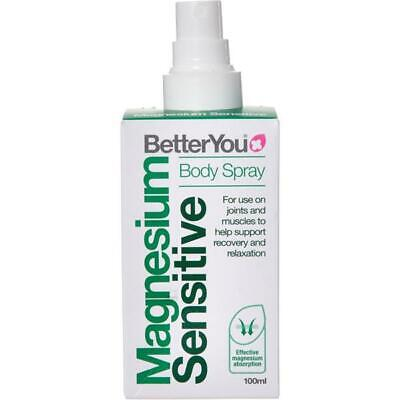 Magnesium Oil Body SENSITIVE Spray 100ML FOR JOINTS AND MUSCLES UK PHARMACY • 11.05£