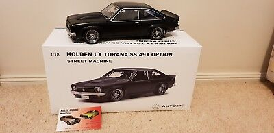 AU399.95 • Buy 1:18 Biante Holden LX SS A9X Torana Street Machine Satin Black