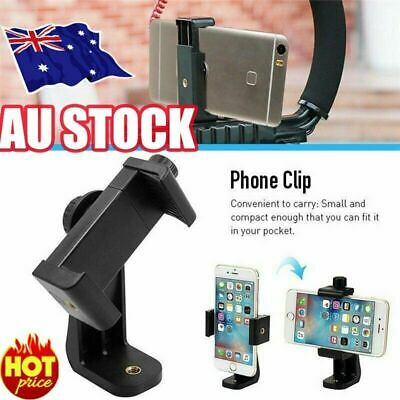 AU9.78 • Buy Universal Smartphone Tripod Adapter Phone Stand Holder Mount For IPhone Samsung~