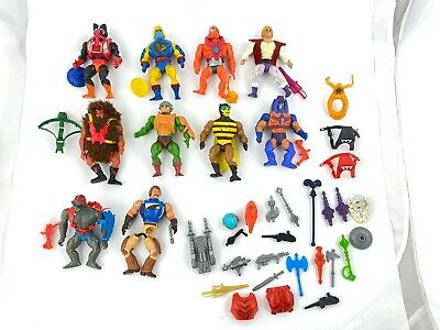 $248.79 • Buy VTG Lot Mattel He-Man MOTU Masters Of The Universe Figures W/ Weapons Access.