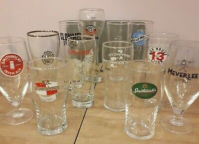 Genuine Collectable Pint Glasses Beer Lager CE Stamp Brand New Valentine For Him • 7.95£