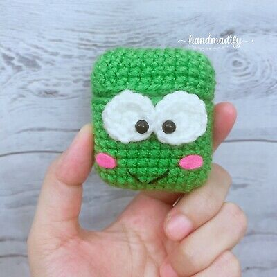 $ CDN9.99 • Buy Frog AirPods Case Cover Cute. Handmade With Love. AirPods 12 Case.