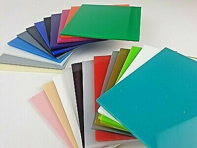 A4 A3 Clear Opal White Mirror Perspex Acrylic Sheet Plastic Panel 3mm 5mm 10mm • 7.32£